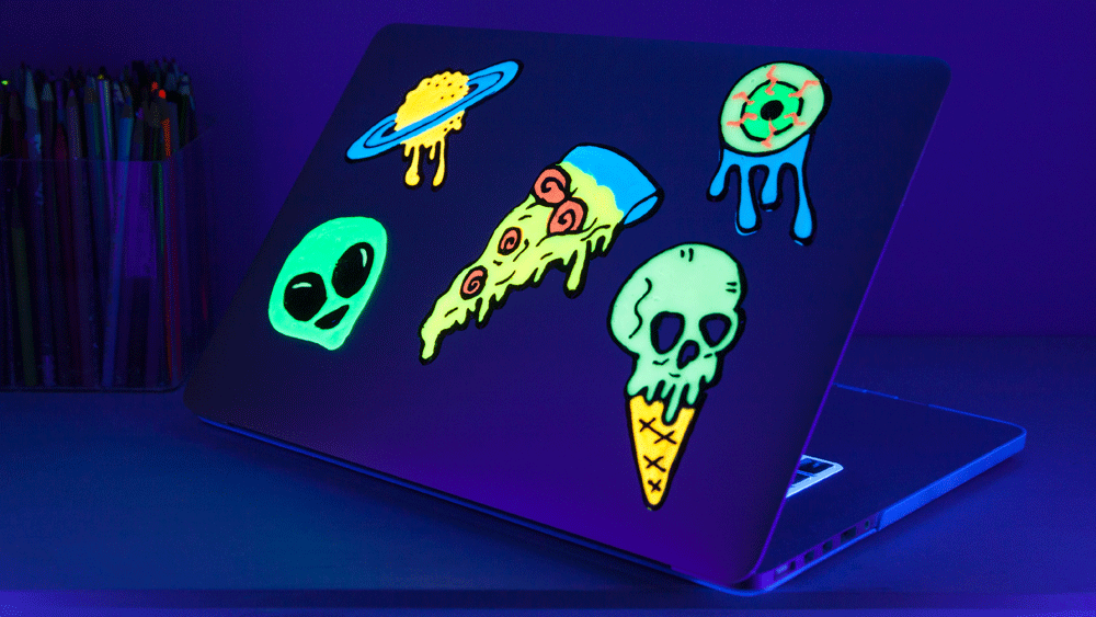 Picture of DIY Glow in the Dark Clings