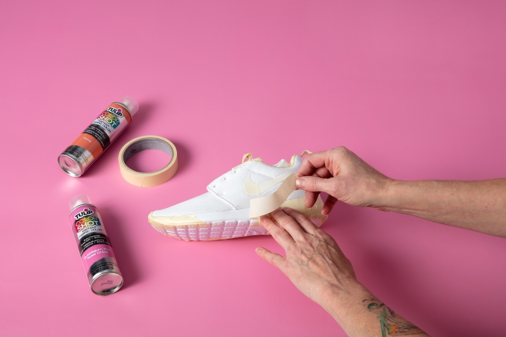 DIY Custom Ombre Shoes