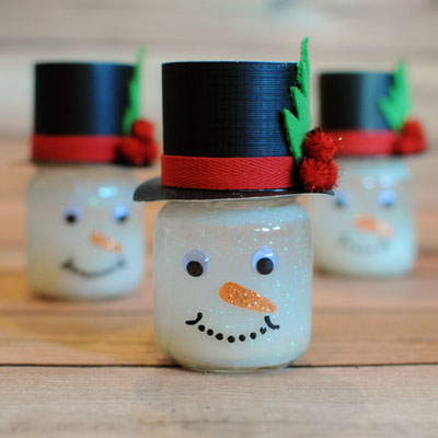 Picture of Friendly Snowman Snow Globe