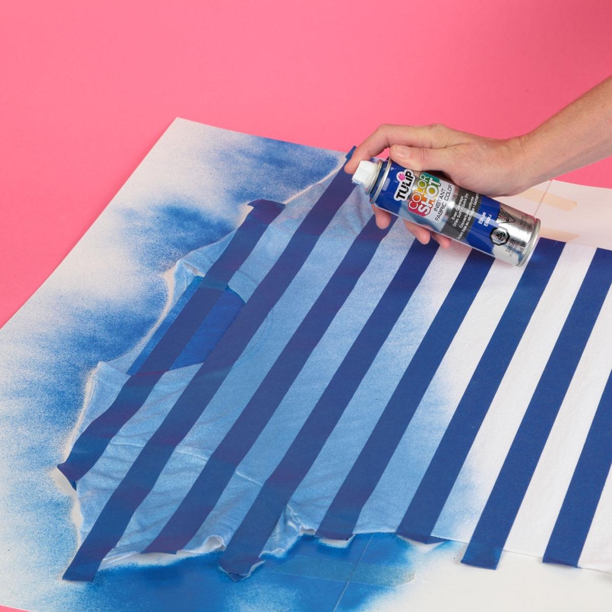 Going Coastal Fabric Spray Tee