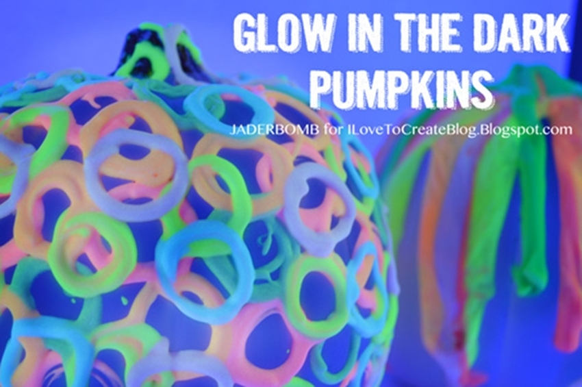 4 Glow in the Dark Pumpkin DIYs