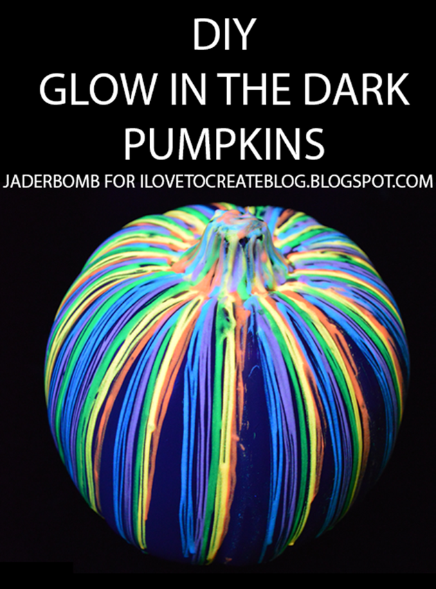 9 Glow in the Dark Pumpkin DIYs