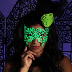 Picture of Enchanted Glow 3D Paint Bat Mask