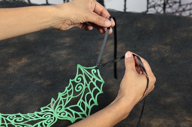 Enchanted Glow 3D Paint Bat Mask