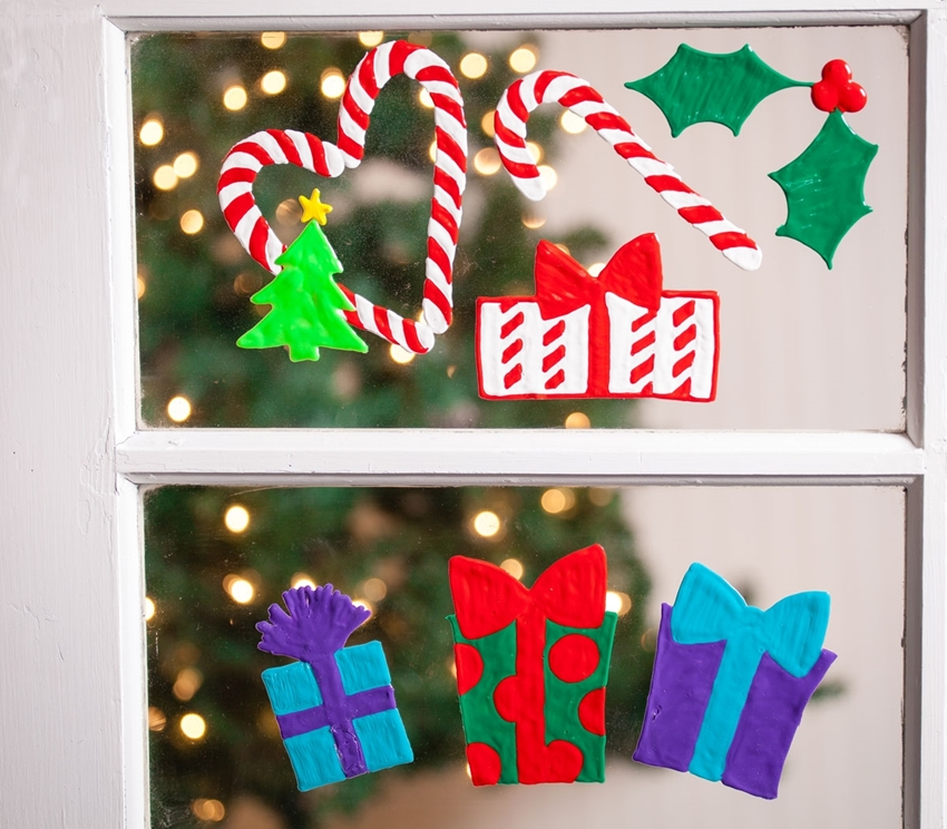 Picture of Happy Christmas Window Clings