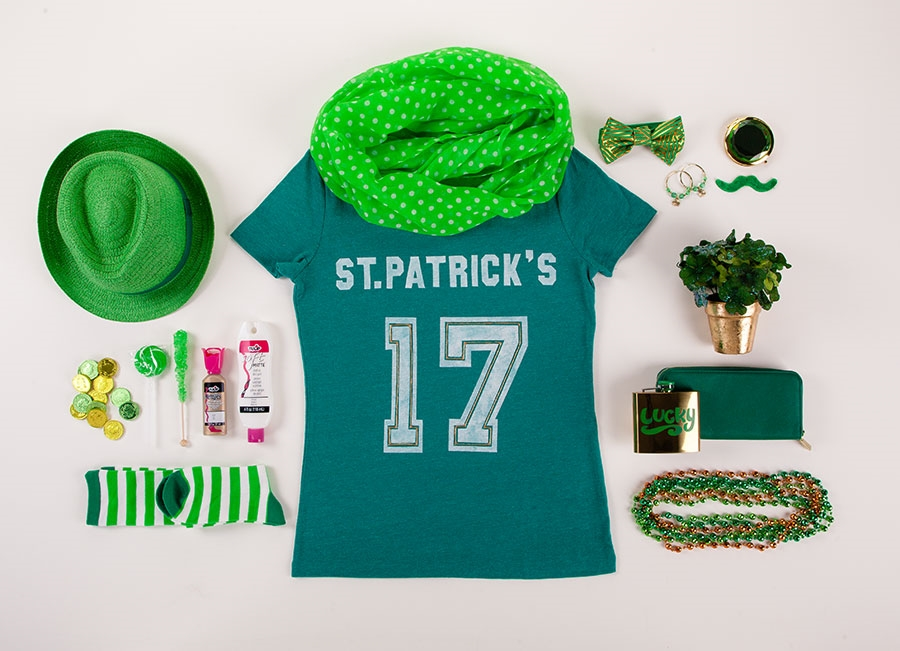 Picture of DIY St. Patrick's Day T-shirt