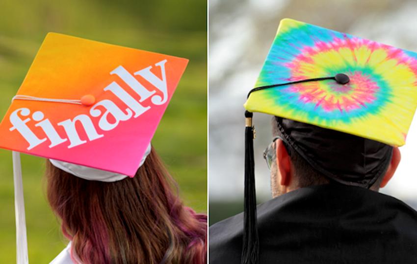 Picture of DIY Grad Caps with Tulip