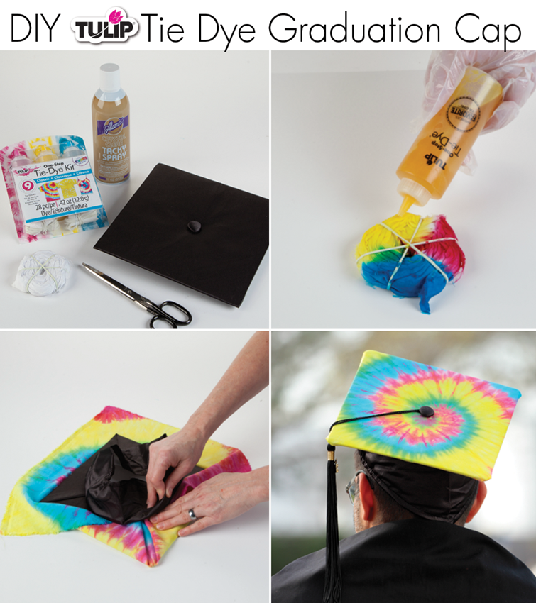 DIY Grad Caps with Tulip