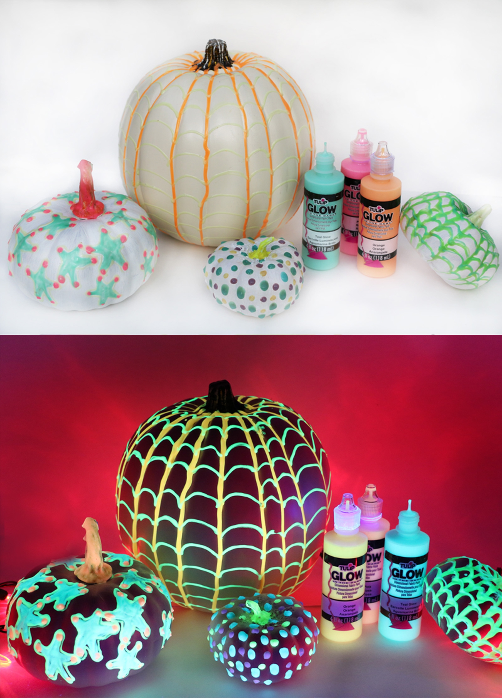 Glow in the Dark Pumpkins