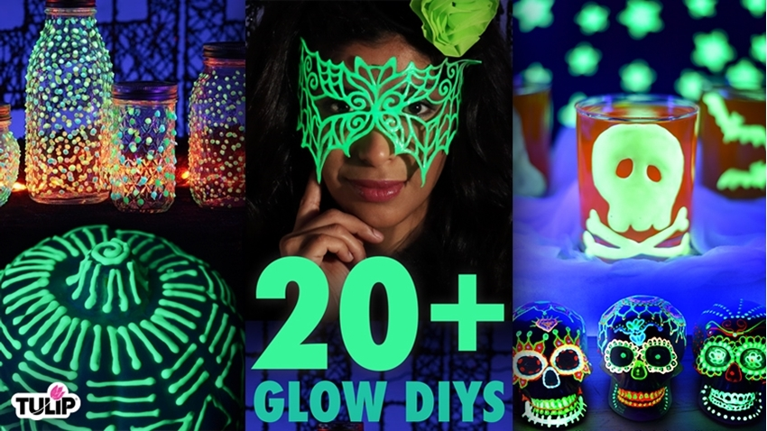 Picture of The Ultimate Glow-in-the-Dark DIY Roundup: 20+ DIY Project Ideas