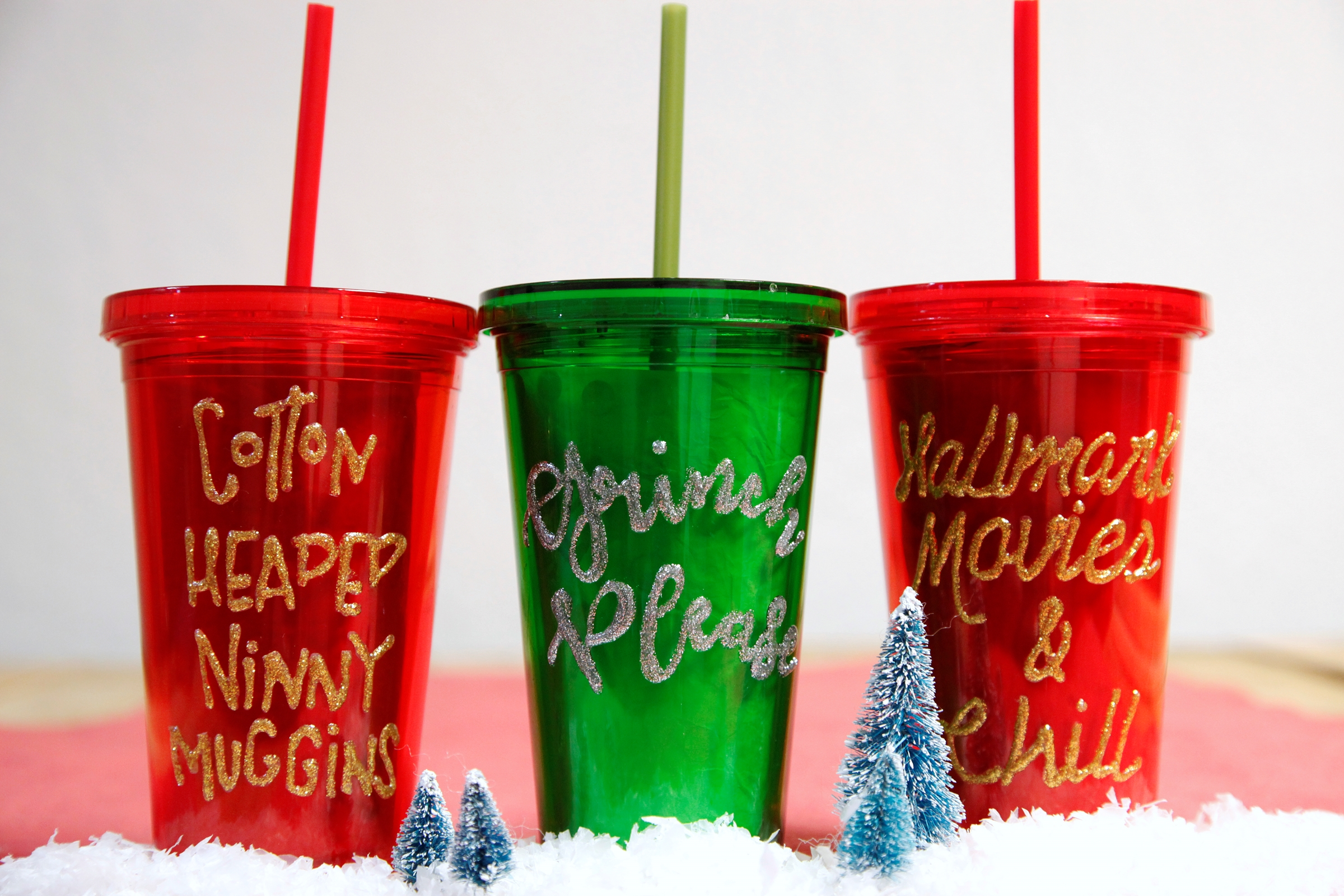 Picture of Personalized Glitter Tumbler
