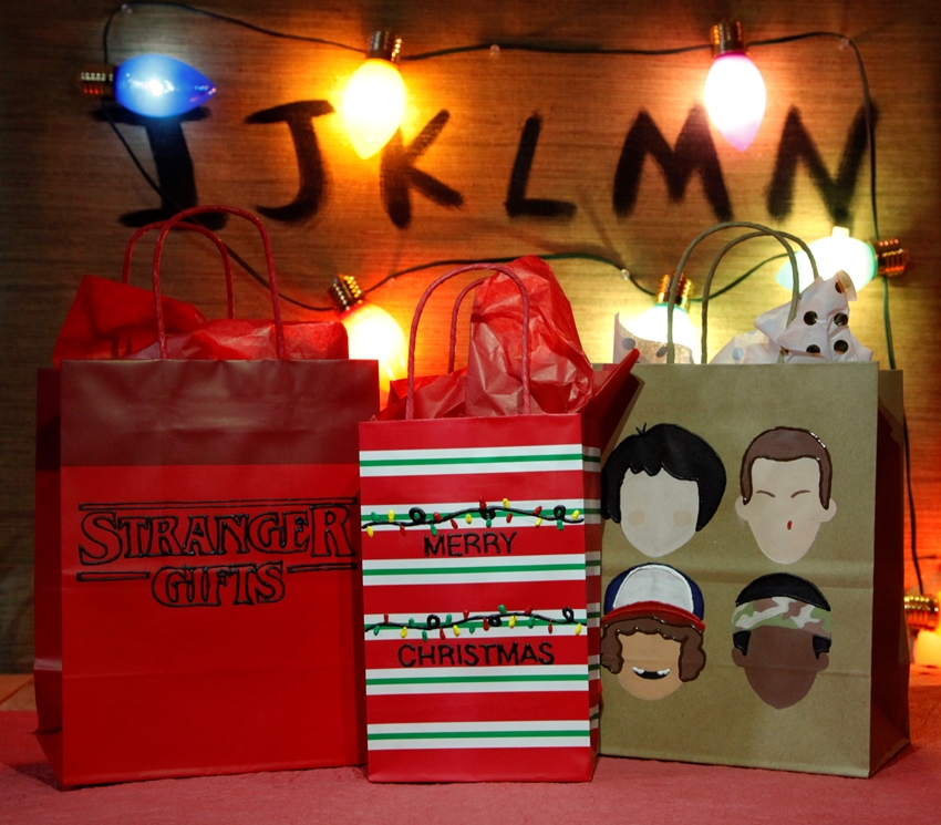 Picture of DIY Stranger Things Gift Bags