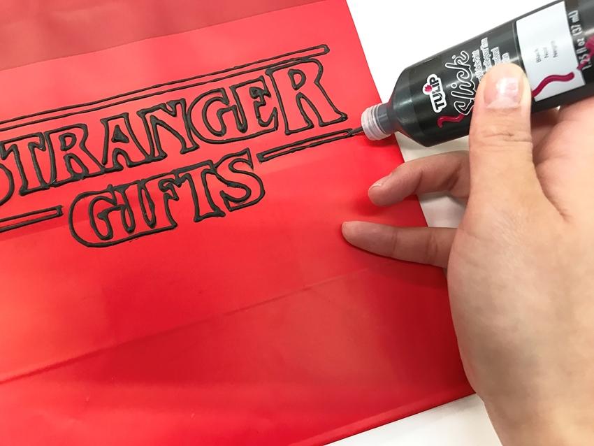 DIY Stranger Things Gift Bags