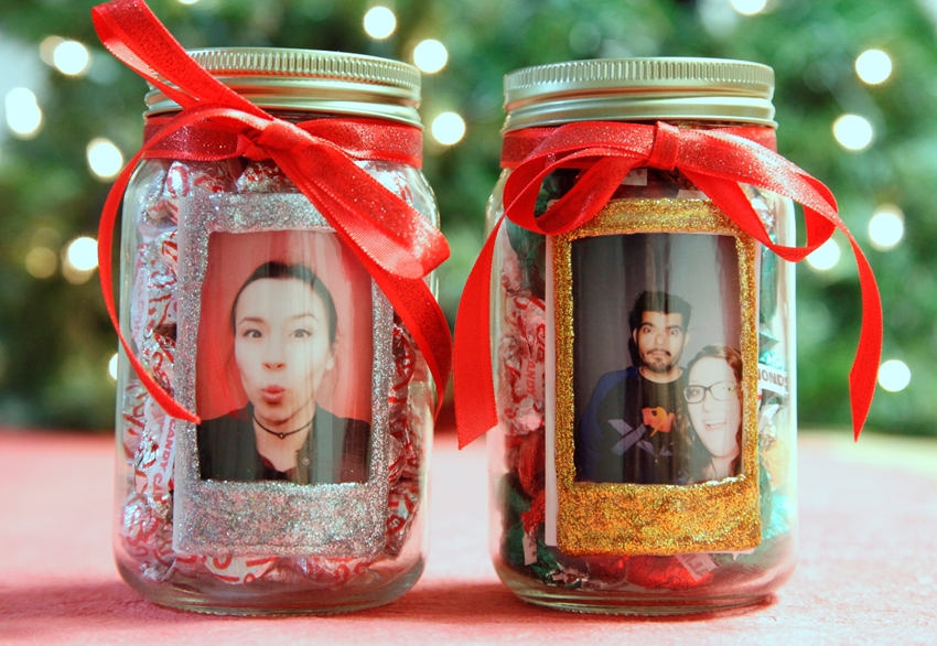 Instax Photo Gift Jar DIY