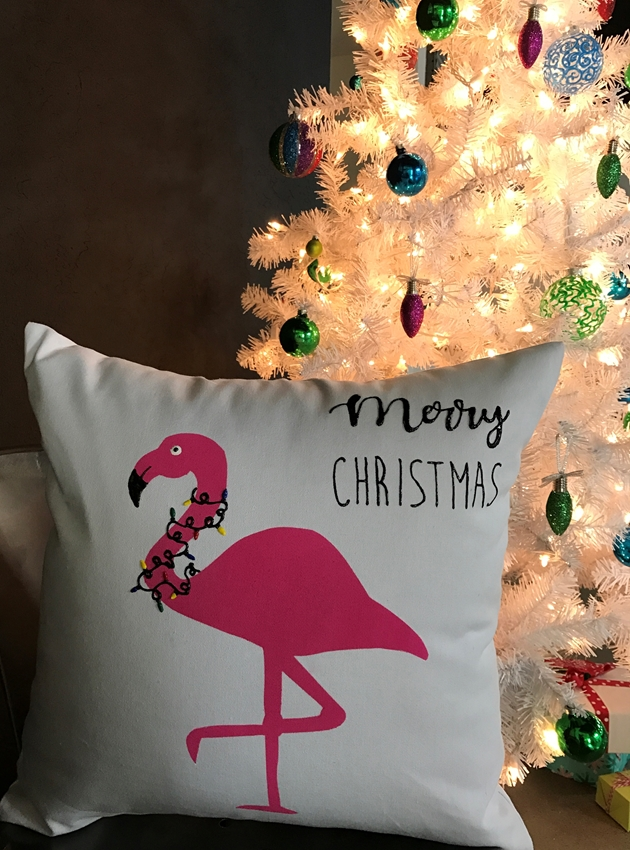 Picture of Flamingo DIY Pillow