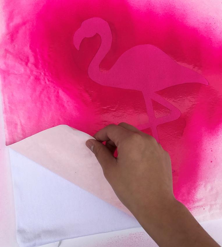Flamingo DIY Pillow