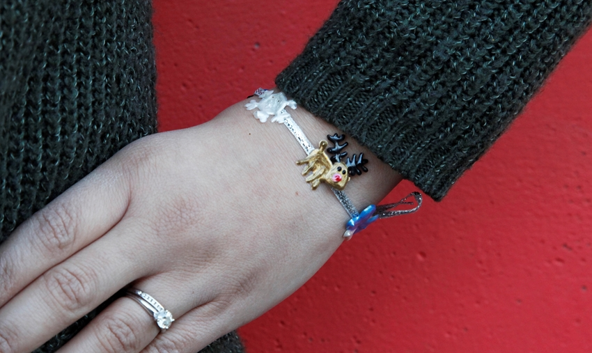 Holiday DIY Bracelets