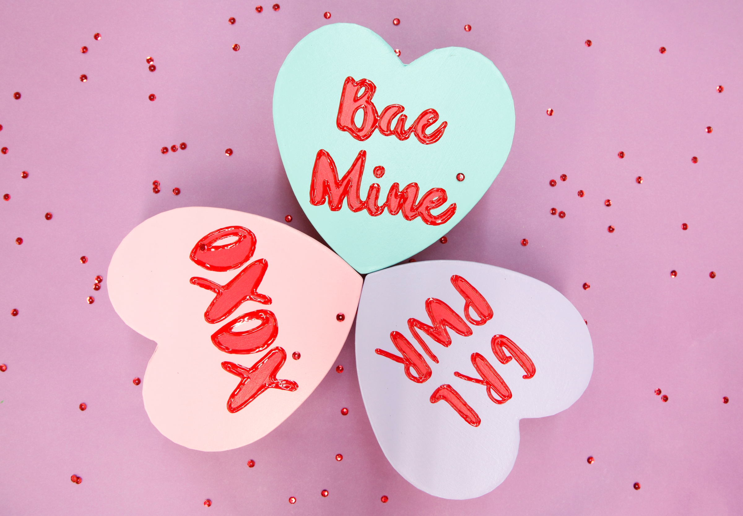 Picture of Galentine's Day Conversation Heart Boxes