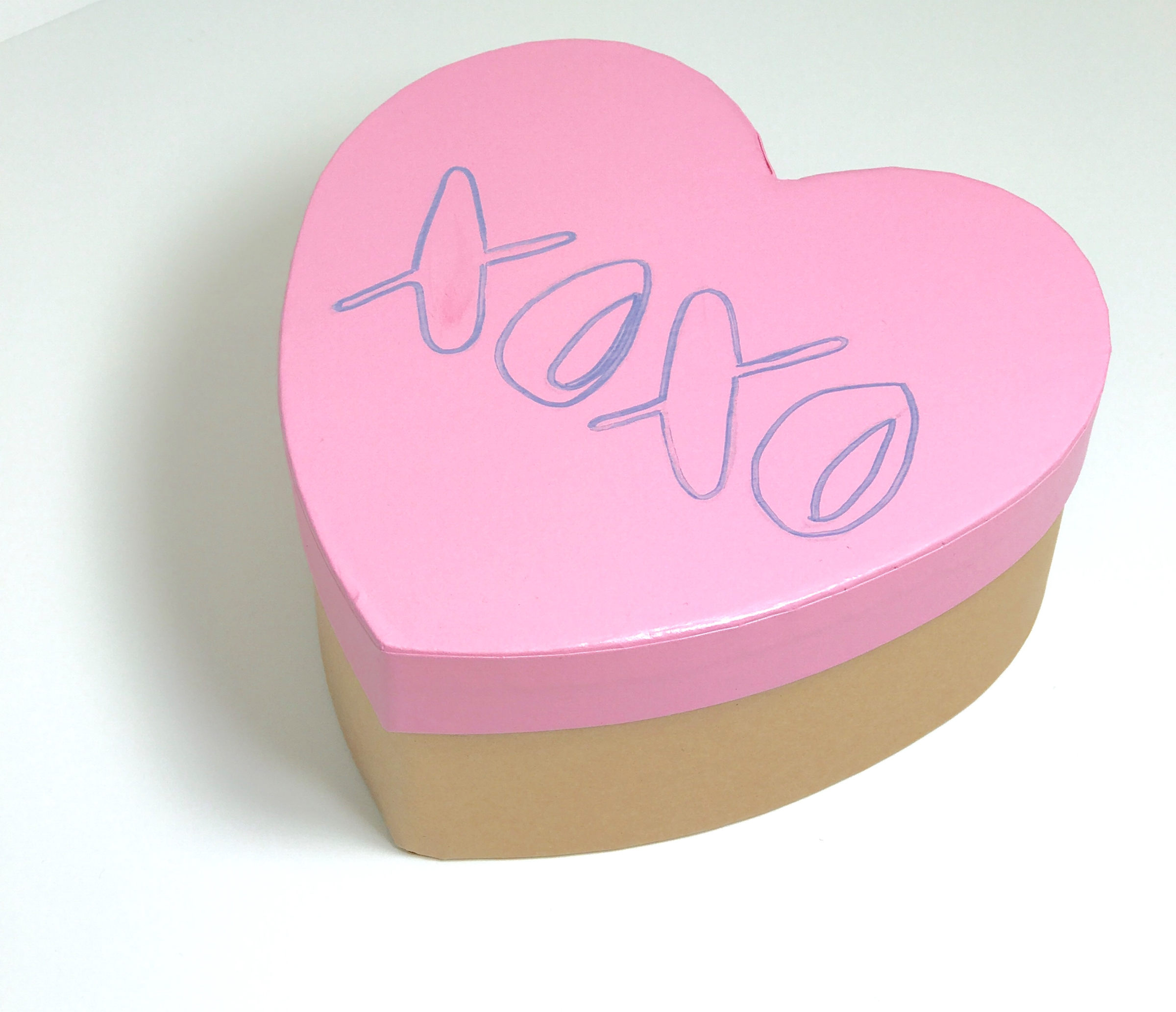 Galentine's Day Conversation Heart Boxes