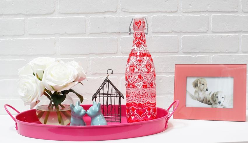 Picture of Valentine's Day Henna Jars