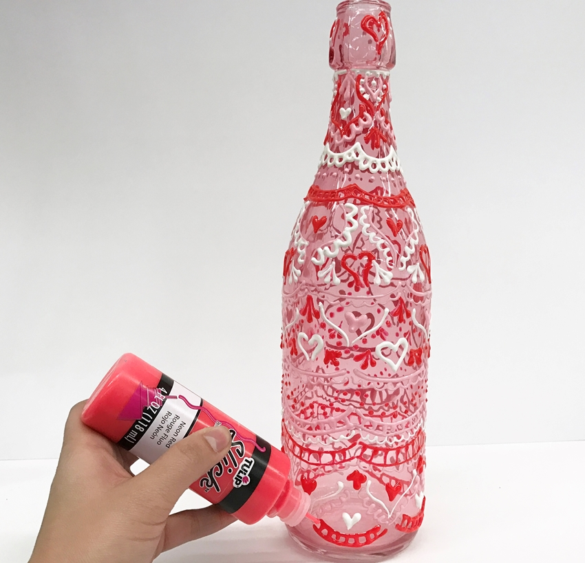 Valentine's Day Henna Jars
