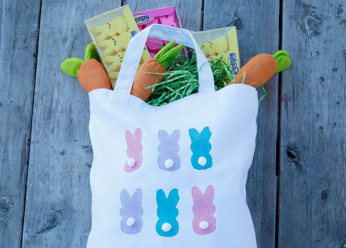 Picture of Peeps Bunny Tote