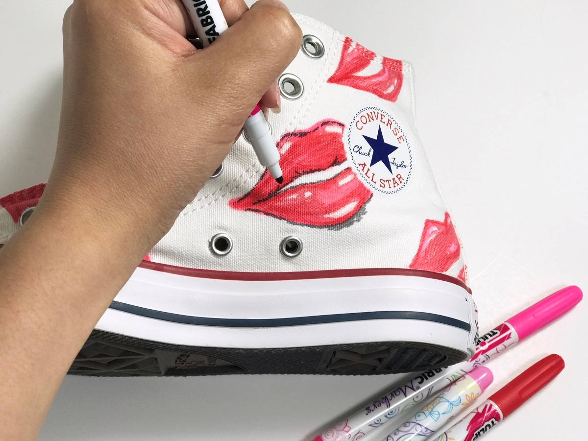 First Kiss Canvas High Tops