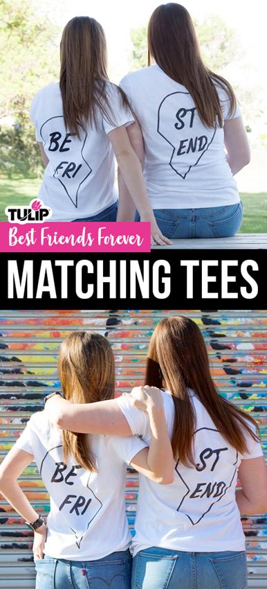 Best Friends Marker T-shirt