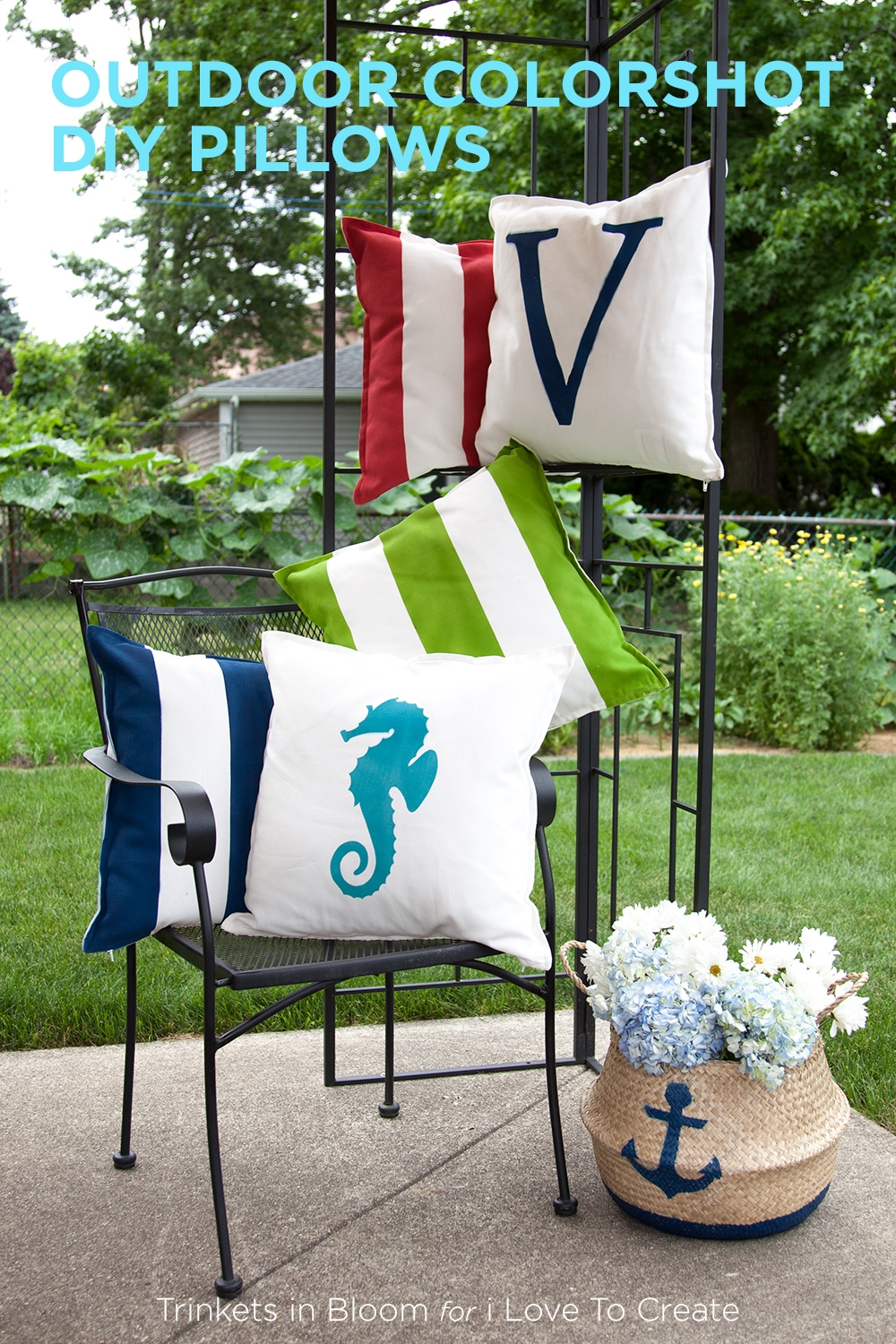 Picture of Outdoor ColorShot DIY Pillows