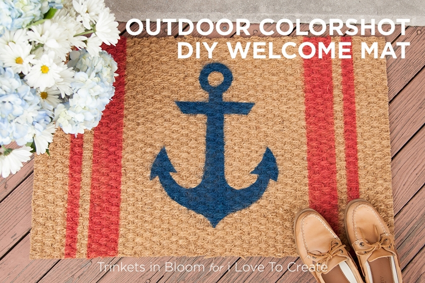 Picture of Outdoor ColorShot DIY Welcome Mat