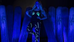 Picture of DIY Ultimate Glow Costume