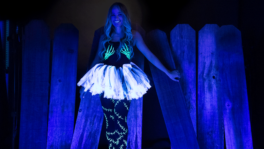 DIY Ultimate Glow Costume