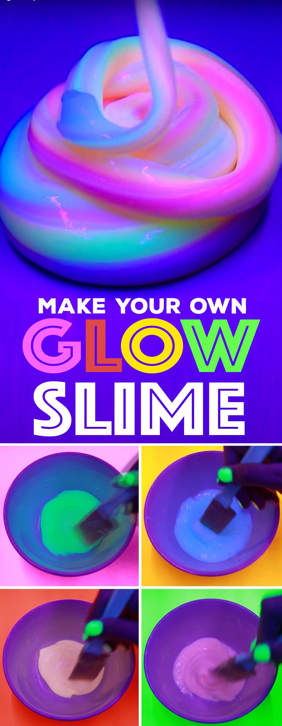 DIY Glow Slime
