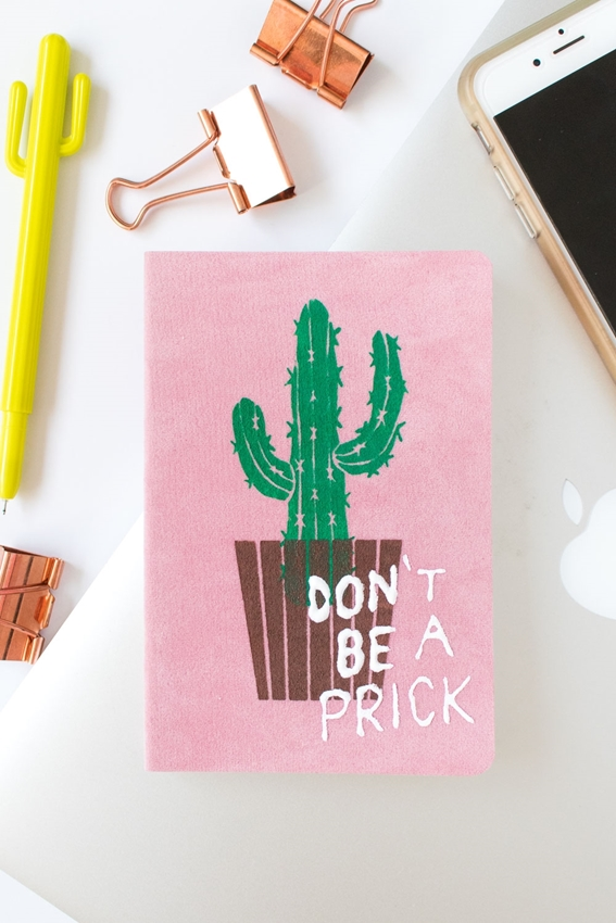 Picture of Punny Cactus Notebook