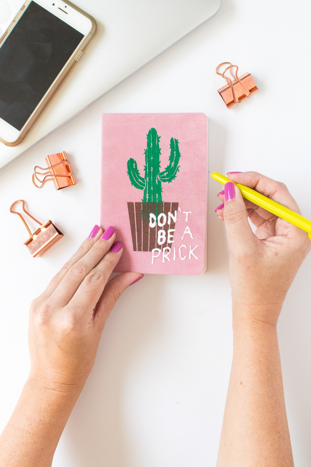 Punny Cactus Notebook