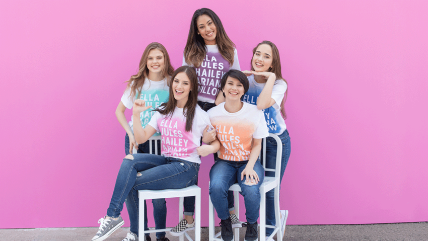 Squad Goals Shirts with ColorShot