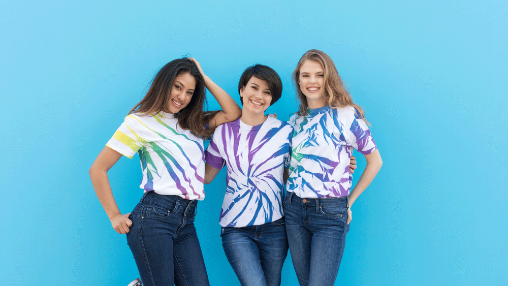 Picture of ColorShot Scrunch Tie-Dye Shirts