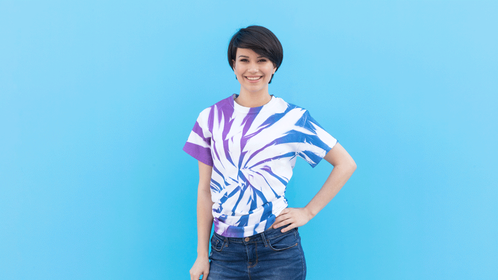 ColorShot Scrunch Tie-Dye Shirts