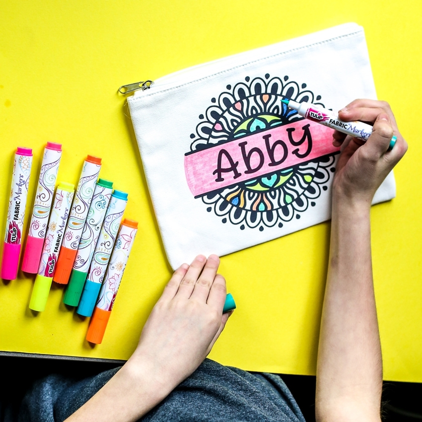 Picture of Stenciled Fabric Markers