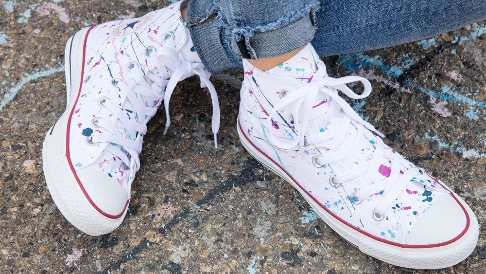 Picture of Splatter Paint Shoes