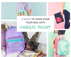 Picture of 5 Bag Makeovers with Fabric Paint
