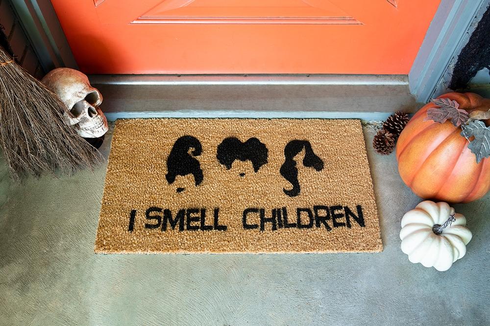 Picture of Halloween Movie Quote Doormat