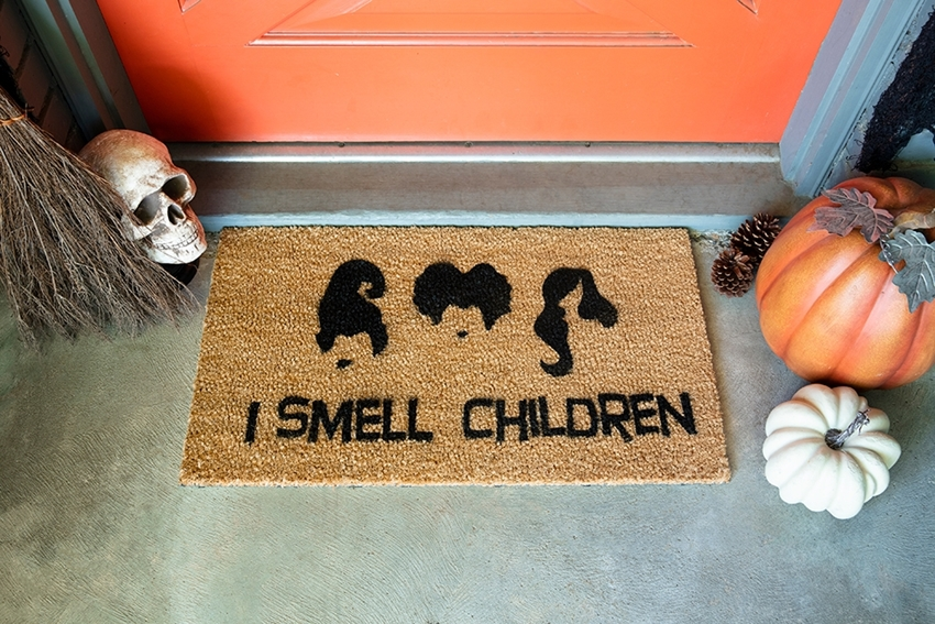 Picture of Halloween Movie Quote Doormat
