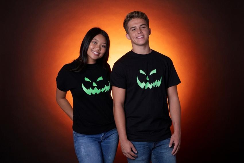 Picture of Glowing Jack o' Lantern T-shirt