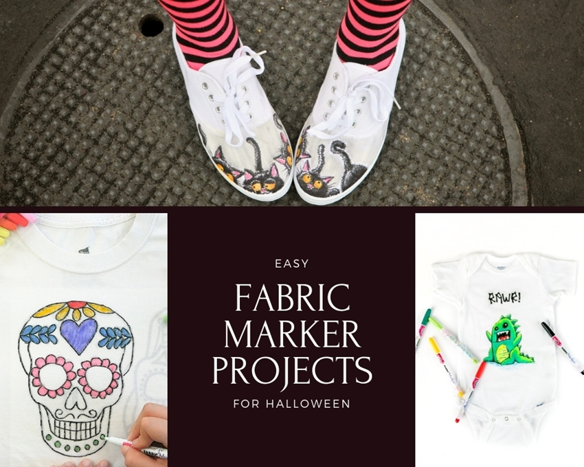 Picture of Fabric Markers Halloween Roundup