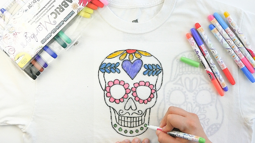 Fabric Markers Halloween Roundup
