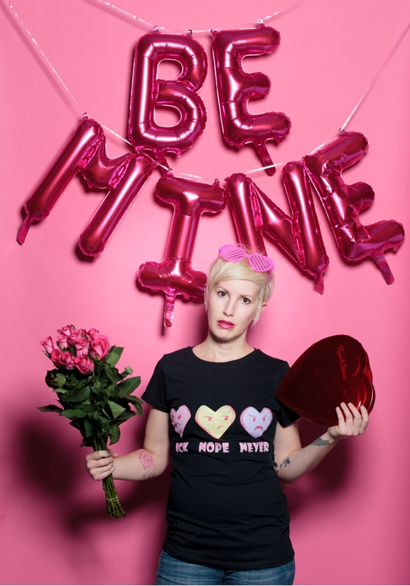 Picture of Anti-Valentine's Day Candy Hearts Shirt