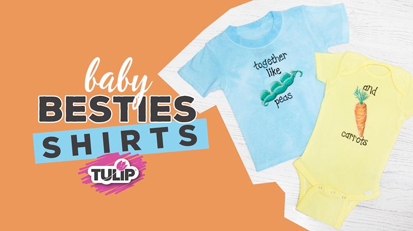 Picture of Fabric Marker Baby Besties Shirt DIY