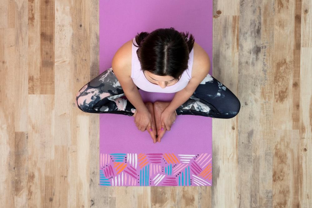 Picture of DIY Custom Painted Yoga Mat