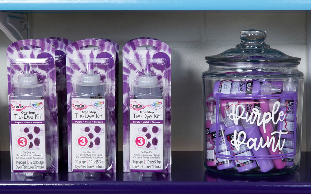Picture of Craft Room Makeover Puffy Paint Canister Labels